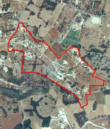 Pla especial del nucli rural de ses Cases Velles (Sant Lluís).
